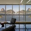 Reinach Mendonça Arquitetos Associados oficinas con vistas al Pan de Azúcar Río de Janeiro