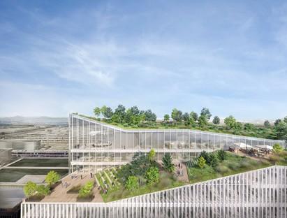 Piuarch Campus Human Technopole nuevo edificio dedicado a la investigación en la antigua área de la Expo de Milán