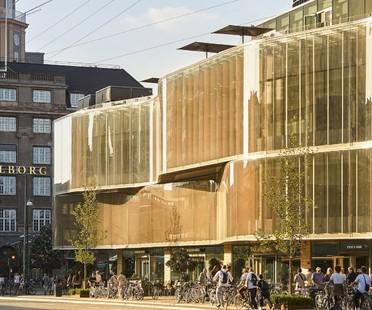 Pei Cobb Freed & Partners una nueva construcción en los jardines de Copenhague Tivoli Hjørnet