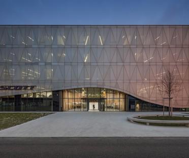 IttenBrechbühl Architects sede social Scott Sports Givisiez Suiza
