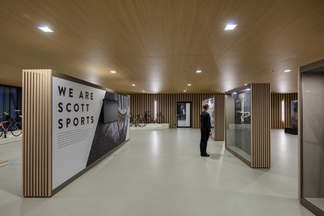 IttenBrechbühl Architects sede social Scott Sports Givisiez Suiza