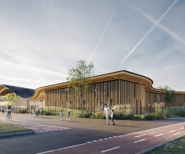 Mario Cucinella Architects Nuevo Complejo Escolar Campus KID San Lazzaro di Savena