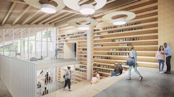 Mario Cucinella Architects Nuevo Complejo Escolar Campus KID San Lazzaro di Savena