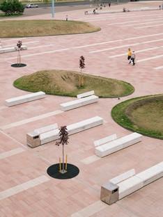 DROM transforma una plaza monótona en un espacio público vivo -  Azatlyk Square
