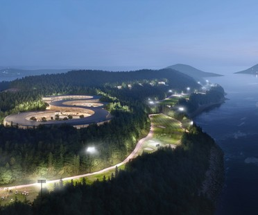 UNStudio un masterplan sostenible para Gyeongdo Island South Korea