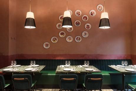 Vudafieri-Saverino Partners RØST interiorismo para un restaurante en Milán