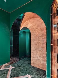 COLLIDANIELARCHITETTO interiorismo ecléctico en el centro histórico de Roma VyTA Farnese