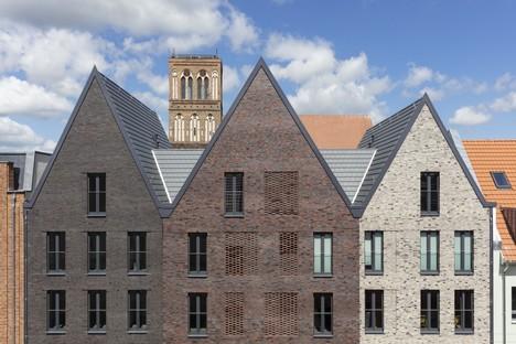 Tchoban Voss Architekten interpretaciones contemporáneas de edificios tradicionales de ladrillo Anklam