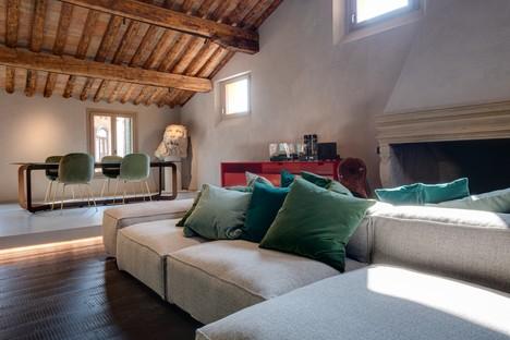 Giuseppe Tortato Architetti emociones y un nuevo relato para un ático en Padua