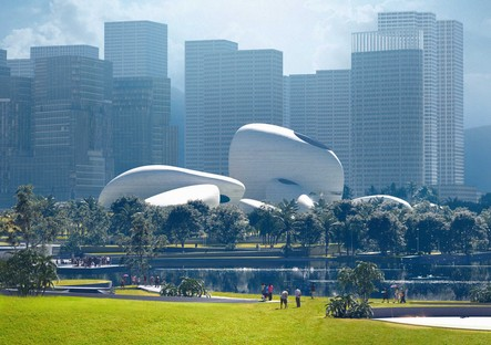 Avance del futuro MAD presenta el proyecto del Shenzhen Bay Culture Park