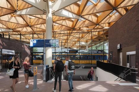 Terminada la nueva estación de Assen, firmada por Powerhouse Company y De Zwarte Hond