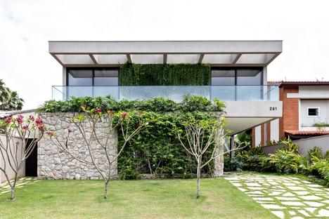 Rua 141 & Zalc Arquitetura Casa NK una casa refugio en la costa de São Paolo