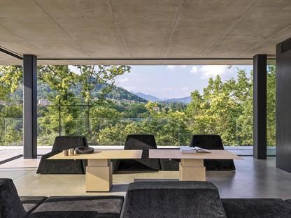 Federico Delrosso Teca House un refugio transparente inmerso en la naturaleza