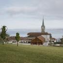 ateliers o-s architectes ampliación de edificio escolar en Lugrin