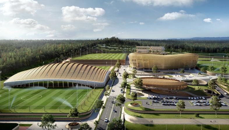 Korean National Football Centre de Seúl: gana el proyecto de UNStudio