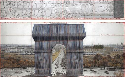 exposición CHRISTO ET JEANNE-CLAUDE - PARIS ! Centre Pompidou