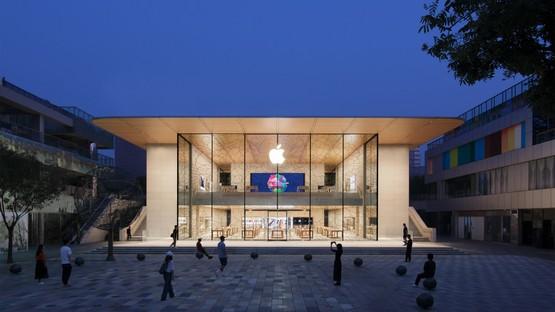 Foster + Partners firma Apple Sanlitun, el nuevo comercio Apple de Pekín