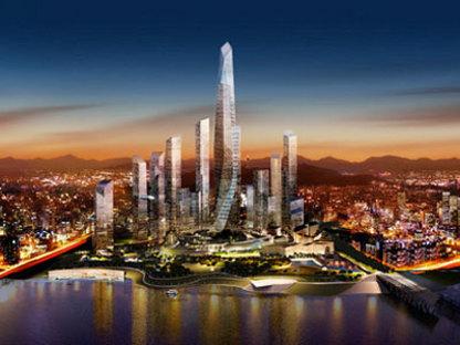 Distrito Internacional de Negocios Yongsan de Seúl, Corea del Sur - Daniel Libeskind