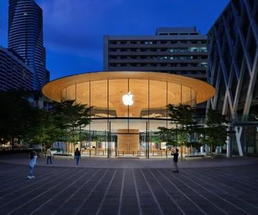 Foster + Partners Apple Central World, un nuevo icónico espacio comercial para Bangkok