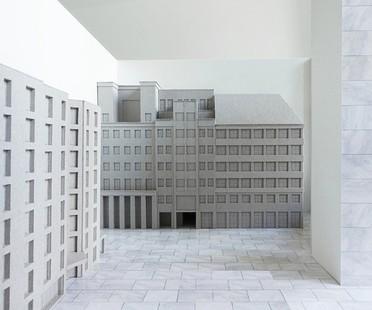 Adrian Streich Exposición Città Analoga Architektur Galerie Berlín
