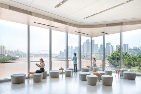 MVRDV NIO House showroom con homenaje a la ciudad de Chongqing