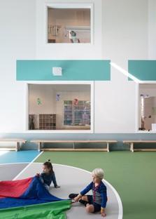 Bovenbouw Architectuur parvulario en Edegem Bélgica