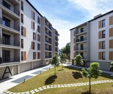 Lombardini22 QUID Quintiliano District viviendas sociales en Milán