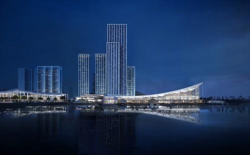 SOM proyecta Jiuzhou Bay, el nuevo paseo marítimo de Zhuhai, en China