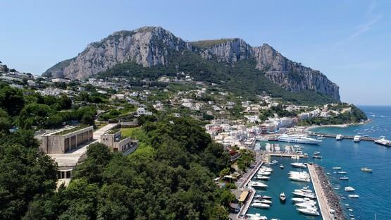 Inaugurada la estación eléctrica de Terna, en Capri, proyecto de Frigerio Design Group