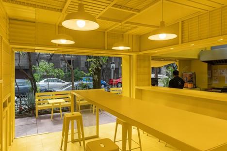 Ciudad de México De Huevos nuevo concepto gastronómico de Cadena Concept Design