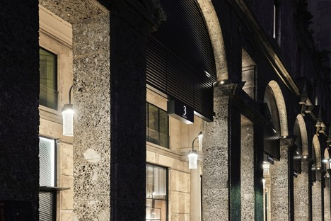 P+F Parisotto + Formenton Architetti rediseño Galleria Bolchini Milán