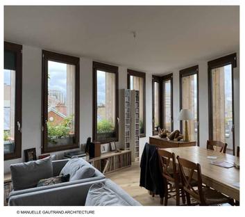 Manuelle Gautrand Edison Lite la covivienda que reinventa París