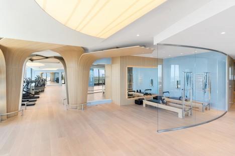 Iosa Ghini Associati interiorismo del Brickell Flatiron de Miami