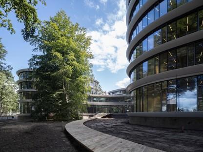 RAU Architects una catedral de madera para el Triodos Bank en Driebergen-Rijsenburg
