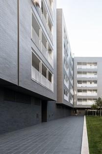 Alvisi Kirimoto Viale Giulini Affordable Housing construcción residencial de protección social en Barletta