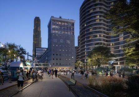 Powerhouse Company con SHoP Architects, Office Winhov, Mecanoo y Crimson para el nuevo masterplan de Rijnhaven Rotterdam