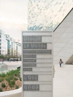 Snøhetta sede del grupo Le Monde París