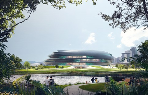 Zaha Hadid Architects Shenzhen Science & Technology Museum
