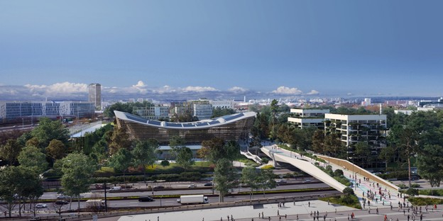 VenhoevenCS + Ateliers 2/3/4/ Centro Acuático para las Olimpiadas París 2024