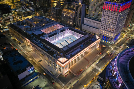 SOM Daniel Patrick Moynihan Train Hall Nueva York