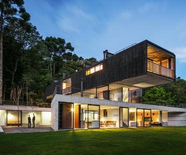 UNA arquitetos Mantiqueira House proyecto residencial en São Bento do Sapucaí