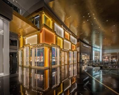 MVRDV completa la fachada del flagship store Bulgari en Bangkok