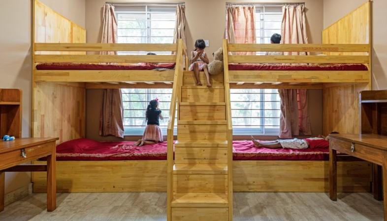 Envisage proyecta el White Flower Hall, residencia femenina para la Mann School, Alipur Nueva Delhi