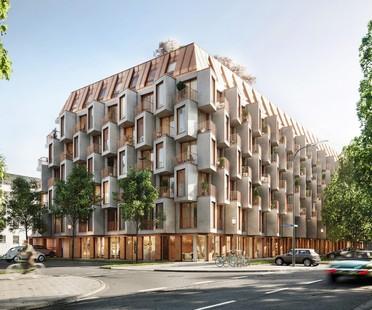 UNStudio y Bauwerk el nuevo complejo residencial Van B en Múnich