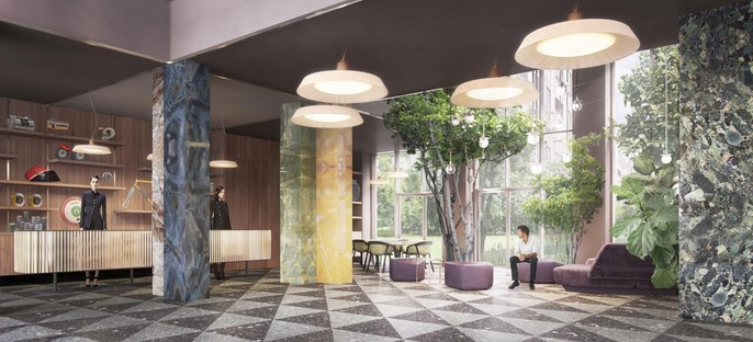 Vudafieri-Saverino Partners nuevo hotel Milano Verticale UNA Esperienze