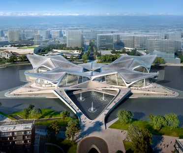 Zaha Hadid Architects Zhuhai Jinwan Civic Art Centre China