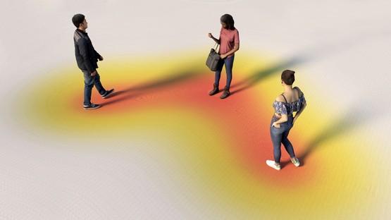 Cosimo Scotucci Physx - A dynamic model for social distancing