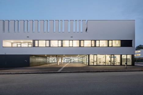 .Megatabs .BORG una escuela sostenible y de alta eficiencia energética en Oberndorf