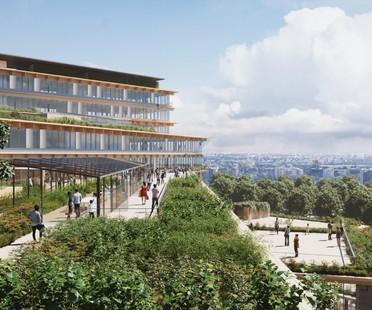 Kengo Kuma & Associates proyecta la oficina del futuro en Milán