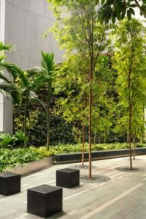 KPF rascacielos 18 Robinson Terrazas verdes sobre la ciudad de Singapur